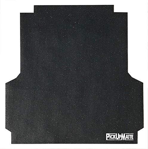 PICKUPMATTE - Antirutschmatte kompatibel mit/geeignet für VW Amarok Doppelkabine mit Laderaumwanne / Ladebettverkleidung