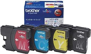 ブラザー工業 【brother純正】インクカートリッジ4色パック LC11-4PK 対応型番:MFC-6890CN、MFC-6490CN、MFC-5890CN 他