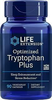 Life Extension Optimized Tryptophan Plus, 90 Vegetarian Capsules