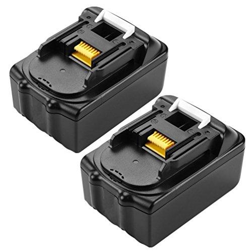 18V 3.0Ah 54Wh BL1830 lithium-ion batterij vervangen voor Makita accu bouwplaatsradio DMR110 DMR112 DMR107 DMR108 BMR100 BMR102 DMR102 DMR100 DMR101 boorschroevendraaier DHP482Z (BL1830 2 stuks)
