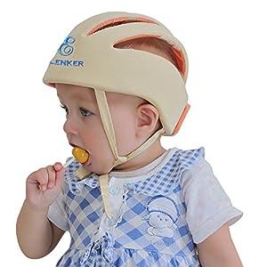 ELENKER Baby Children Infant Adjustable Safety Helmet Headguard Protective Harnesses Cap