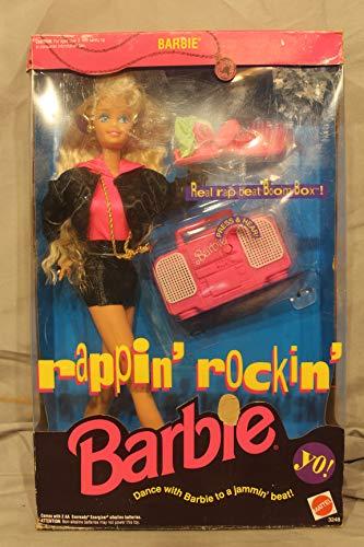 Rappin' Rockin' Barbie Doll w Working Boom Box (1991)
