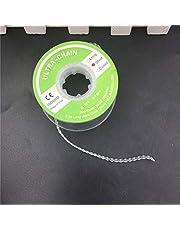 NAttnJf Duradero fácil de usar portátil Herramienta dental Ortodoncia Elástica Clara Ultra Power Cadena de goma 3 tipos Corto