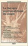 La thérapie psychanalytique du couple