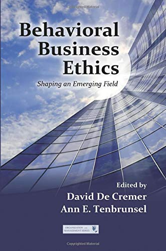 Download Behavioral Business Ethics (Organization and Management Series) 0815390904