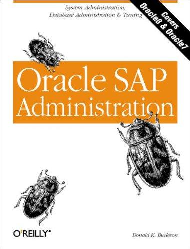 Oracle SAP Administration (Classique Us)
