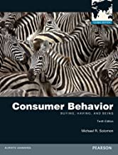 Consumer Behavior: Buying, Having, and Being by Michael R. Solomon (2012-03-01)
