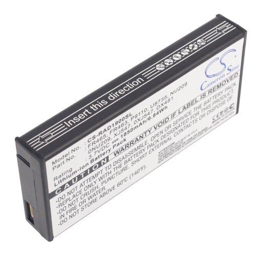 Battery for Dell PowerEdge 2950 Li-ion 3.7V 1850mAh - 0NU209, 0XJ547, DX481, FR463, FR465, NU209, P9110, U8735, XJ547