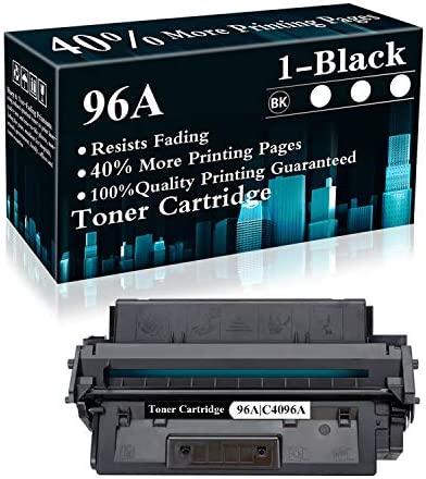 1 Pack 96A C4096A Black Toner Cartridge Replacement for HP Laserjet 2100 2100tn 2100m 2100n product image