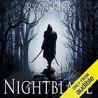 Nightblade audiobook cover art