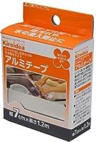 三菱アルミニウム Kireidea アルミテープ すき間 ふさぐ シルバー 7cm×1.2m 油汚れや水の浸入を防ぐ