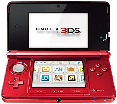 Nintendo 2200249 Console 3ds Metallic Red