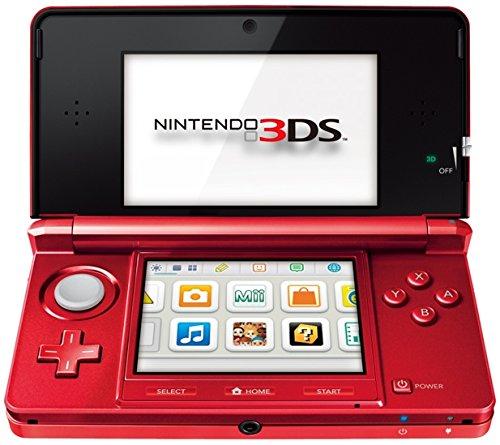 Nintendo 3DS metallic-rot EU