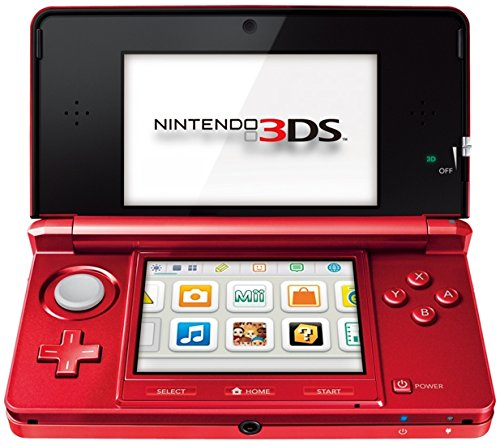 Nintendo 3DS metallic-rot EU