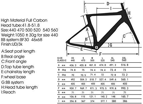 Road Bikes SAVADECK Phantom3.0 Carbon Road Bike 700C Carbon Fiber Racing Bike Full Carbon Bicycle with Shimano Ultegra R8000 22 Speed Groupset Continental Tires and Fizik Saddle