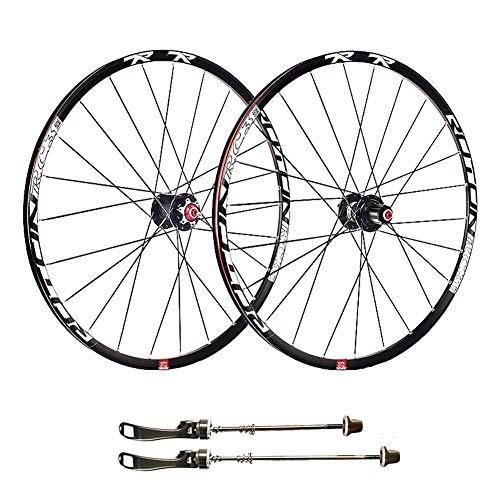 TianyiTrade 29' Montaña MTB Juego de Ruedas de Bicicleta Freno de Llanta de Disco Pared Doble Llantas Rodamientos Sellados 7 8 9 10 Velocidad Cassette Hub (Color : B)