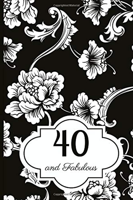 うめき悪化させる特に40 and Fabulous: Journal - A Beautiful Gift And Keepsake To Write Down Special Moments