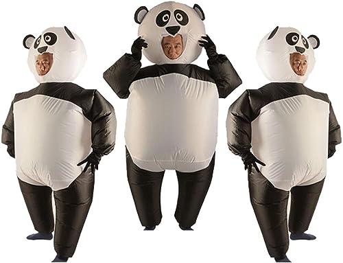 diseñador en linea FLAMEER 3 Unidads Unidads Unidads Traje De Panda Inflable Mono Traje Guantes Cosplay Disfraces Cómodo  marcas en línea venta barata