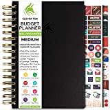 Clever Fox Budget Planner & Monthly Bill Organizer with Pockets. Expense Tracker Notebook, Budgeting Journal and Financial Planner Budget Book to Control Your Money. Medium (5.1' x 8.2') - Black