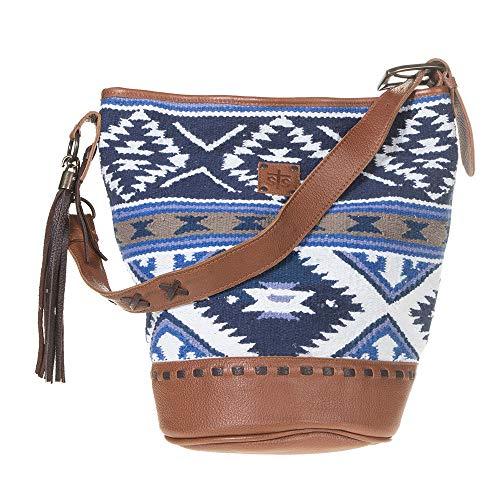 STS Ranchwear Women's Durango Serape Shopper Bag Blue Size: One siz