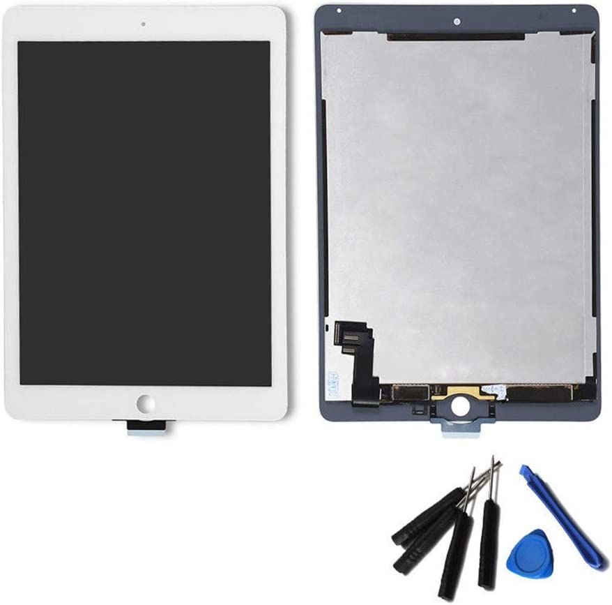 Screen replacement kit Replacement Touch Screen Digitizer Home Button Tool Fit For IPad Air 2 A1566 Touch Screen For Ipad Air 2 A1567 Touch Screen Repair kit replacement screen