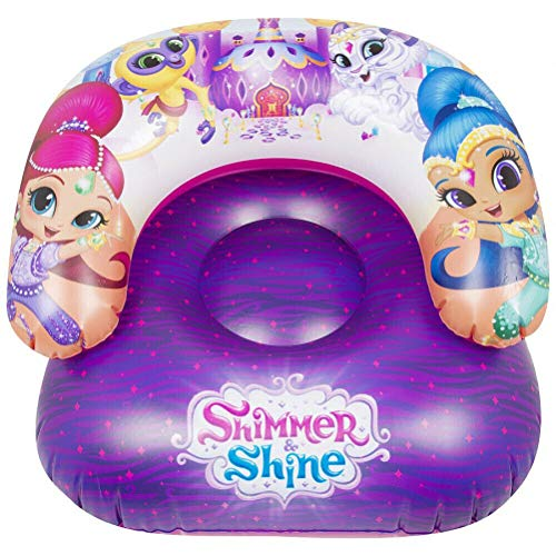 TV-24 Shimmer & Shine Aufblasbarer Stuhl Kindersessel Sessel Kinder Girls