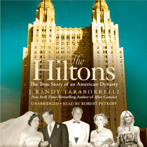 The Hiltons audiobook cover art