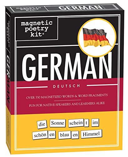 German Magnetic Poetry Kit