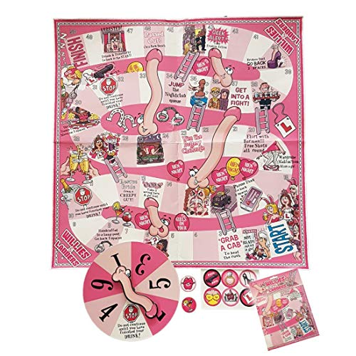 WILLIES & LADDERS' Hen Night Party Spelletjes, Accessoires & Favorieten