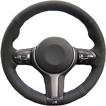 YYFTT For Or Hand Sewing Diy Car Steering Wheel Cover Leather For Bmw F87 M2 F80 M3 F82 M4 M5 F12 F13 M6 F85 X5 M F86 X6 M F33 F30 M
