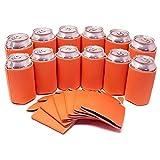 Risitar HomeFun-Dosenkühler 12 in Packung Bier Flaschenkühler für 0.50L Dosen, Isolierte Kühler Perfekte DIY-Projekte, Feiertage, Events, Hochzeitsfestclub