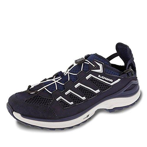 Lowa 4104816920, Chaussures montantes pour Homme, bleu foncé, 42 EU