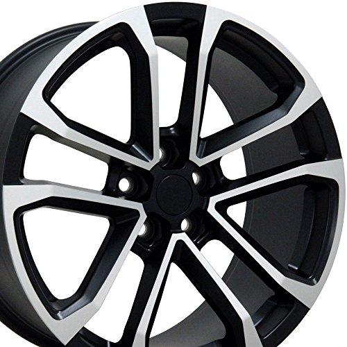OE Wheels LLC 20 Inch Fits Chevy Camaro ZL1 Style CV19 Satin Black Machined 20x9.5 Rim Hollander 5547 -  9491668