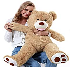 * Loveable Joy : Huggable Experience & Environmentally friendly ,Smooth and Squeezable * Premium Quality : Soft And Plush,There's No Shedding Or Clumps . A Bear Stuffed Animal You Can Feel * A Thoughtful Gift For : Christmas,Thanksgiving Day, Valenti...