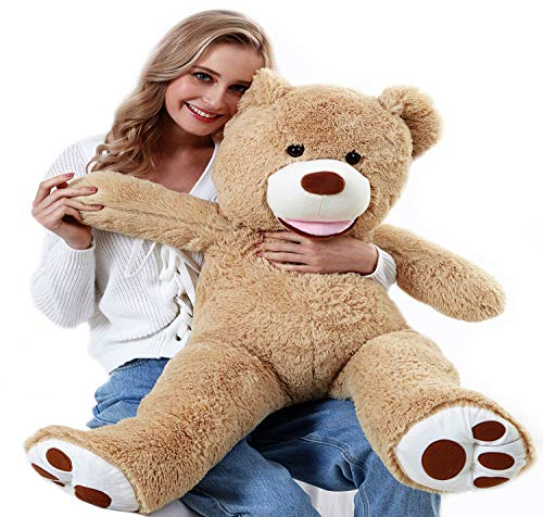 "ChiFit Big Teddy Bear 39"", Teddy Bears Stuffed Animals, Giant Teddy Bear ,Tan"