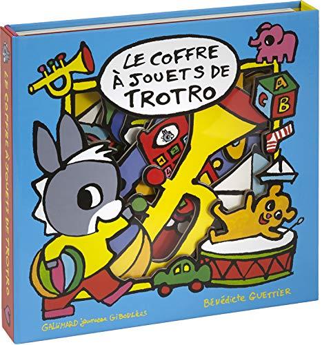 Le coffre à jouets de Trotro: Livre-puzzle - De 1 à 3 ans