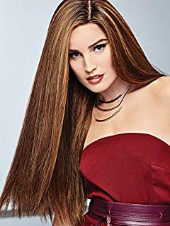 Glamour and More Wig Color R829S+ GLAZED HAZELNUT - Raquel Welch Wigs 21