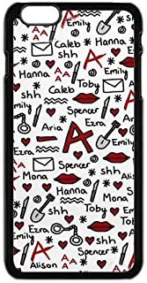 FEEL.Q- Pretty Little Liars TV Show Personalized Hard Textured Rubber Bumper Case Cover for iPhone 6 & iPhone 6S