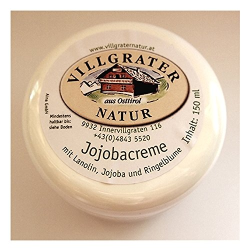 Crème visage à la lanoline 150 ml - Villgrater Nature