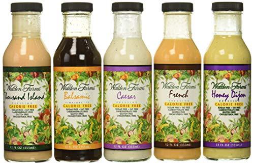Walden Farms Salad Dressing Calorie Free, Fat Free, Gluten Free, Sugar Free -