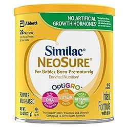 Similac NeoSure Infant Formula with Iron, For Babies Born Prematurely, Powder, 13.1 ounces