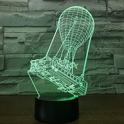 3D-lamp nachttafellamp ballon nachtlampje voor de kinderkamer, led-lamp voor de woonkamer perfect geschenk voor kinderen