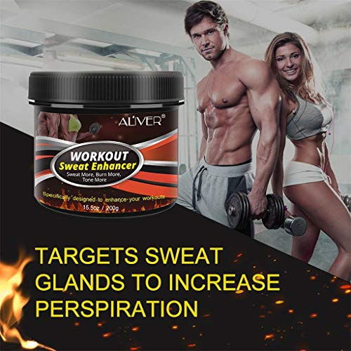 Fat Burning Cream, Fat Abdominal Cream, Burning Workout Cream for Tightening Muscles, Slimming Booster, Exercise, Body Cream, Slimming 290G