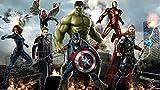 Personnalisé 3d Enfants Garçons Papier Peint Mural The Avengers Spiderman Iron Man Hulk Capitaine Amérique Tv Canapé Salon Café Bar Fond