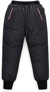 Niños Pantalones de Plumas Niños Niñas Invierno Pantalones de Nieve Ligero y Cálido Pantalones Deportivos para Exteriores ...