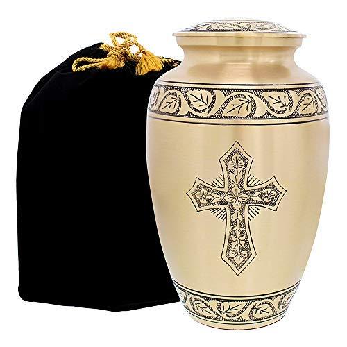Beloved and Inspiring Engraved Bronze Adult Cremation Urn