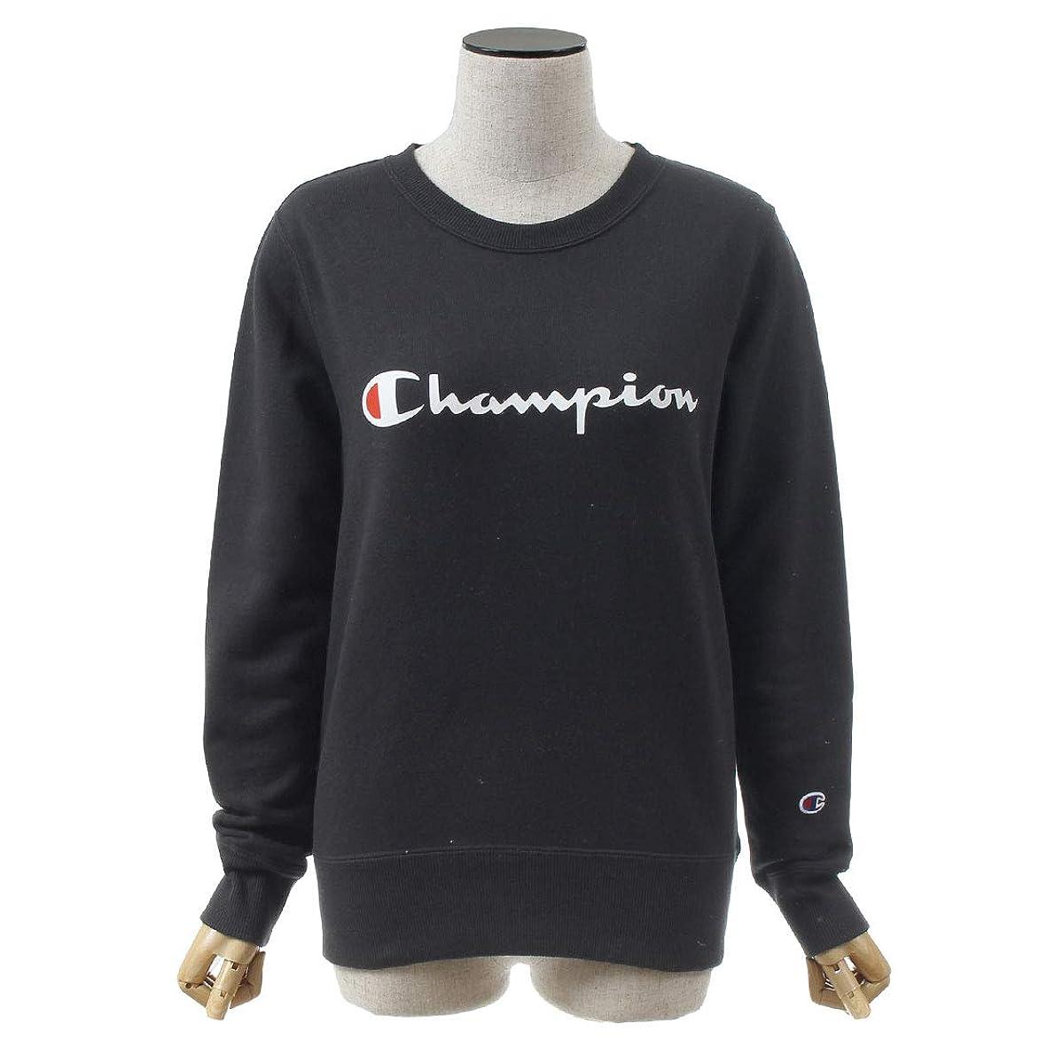 アブストラクトミュウミュウ滑りやすい[チャンピオン] スエット クルー ネックス ウェット セーター CW-N015 レディース