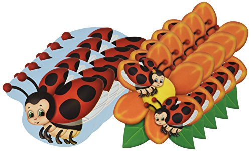 Mini Ladybug Cutouts   (10/Pkg)