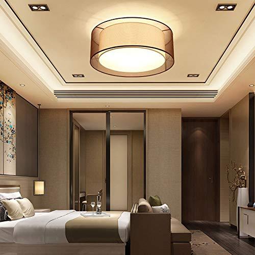 no-branded Sygjal Hotel Bedroom Techo LED Moderna Minimalista llevada Redonda de Techo