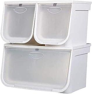 YWAWJ Ouverture Avant Type de Jouet en Plastique de Stockage for Enfants Boîte Snack sous-vêtements Boîte de Rangement Cou...